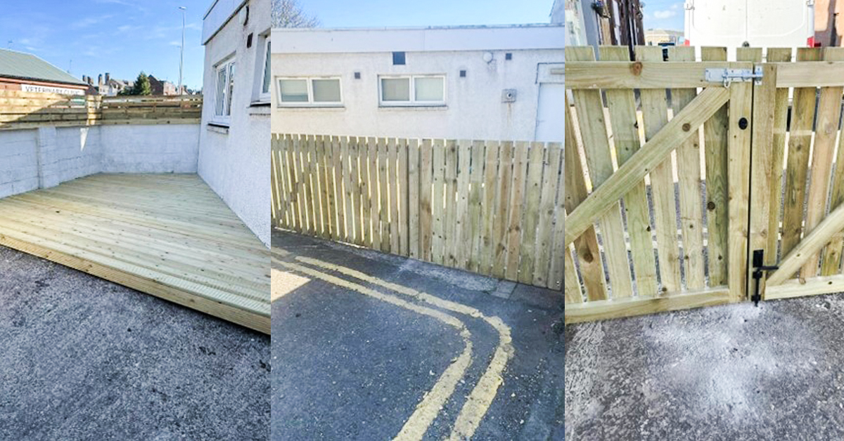 tca arbroath new outdoor space